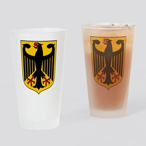 German Coat of Arms Drinking Glass