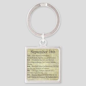 September 18th Keychains