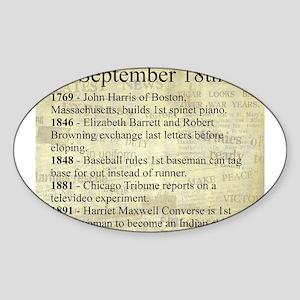 September 18th Sticker