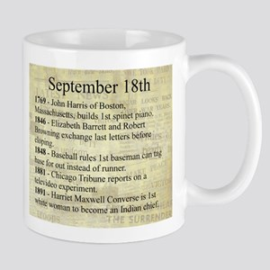 September 18th Mugs