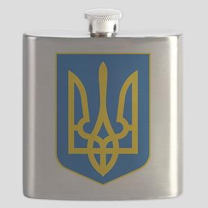 Ukraine Coat of Arms Flask