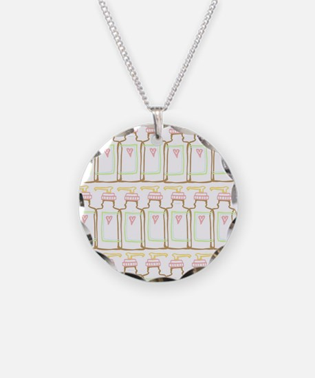 Sweet hand soap bottle  Necklace