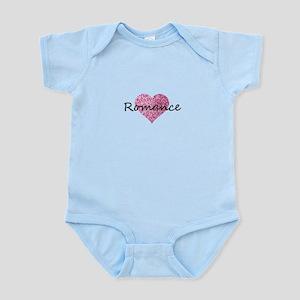 romance pink glitter heart Body Suit