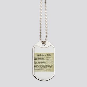 September 17th Dog Tags