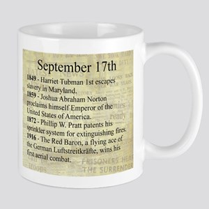 September 17th Mugs