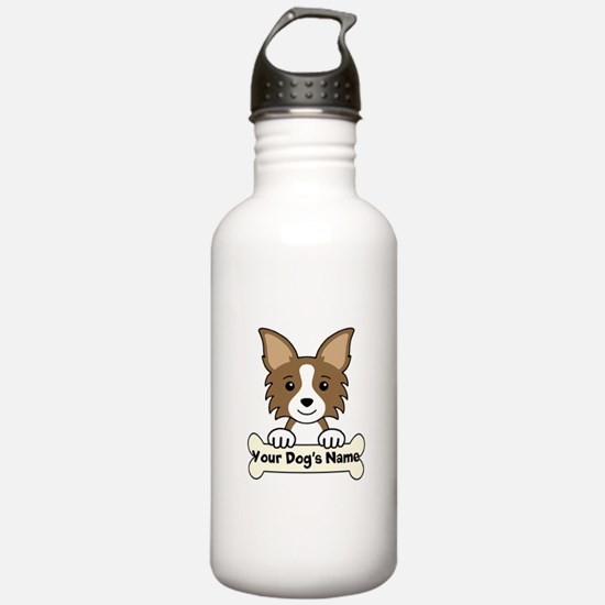 Personalized Chihuahua Water Bottle