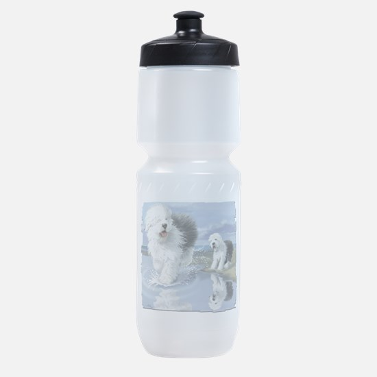 Old English Sheepdo... Sports Bottle