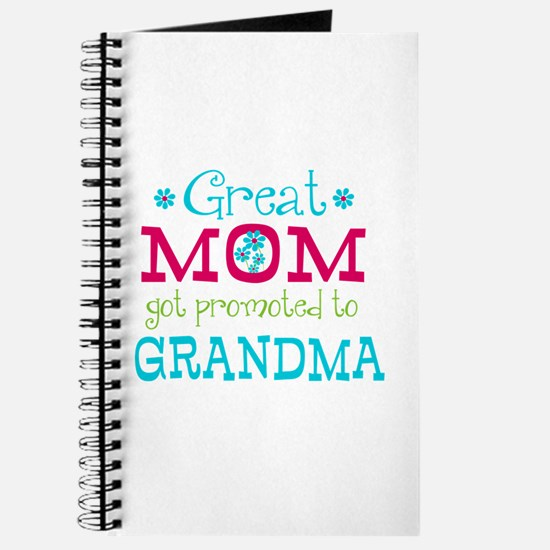 Great Mom Promoted to Grandma Journal