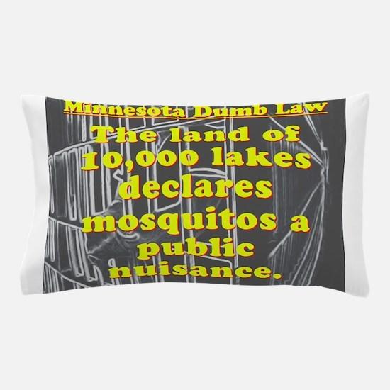 Minnesota Dumb Law 001 Pillow Case