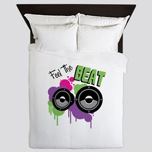 Feel The BEAT Queen Duvet