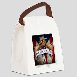 OnedayatatimePR Canvas Lunch Bag