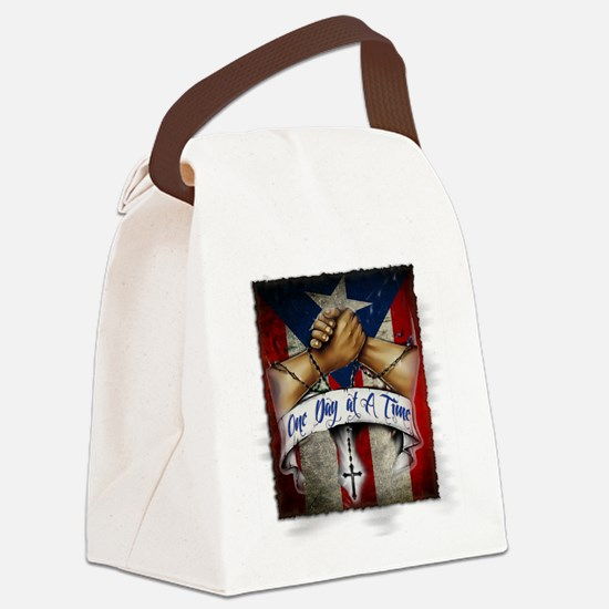 OnedayatatimePR Canvas Lunch Bag