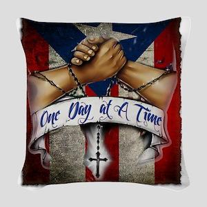 OnedayatatimePR Woven Throw Pillow