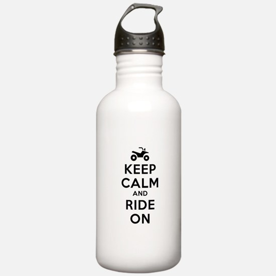 Keep Calm Ride On Water Bottle
