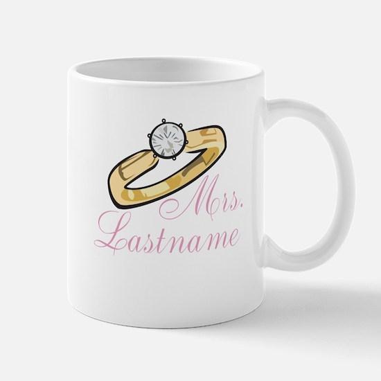 Personalized Mrs. Mug