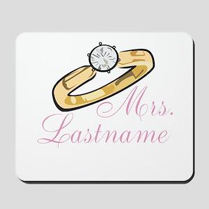 Personalized Mrs. Mousepad
