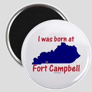 """Born at Fort Campbell 2.25"""" Magnet (10 pack)"""