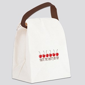 Youare The Cherry On Top Canvas Lunch Bag
