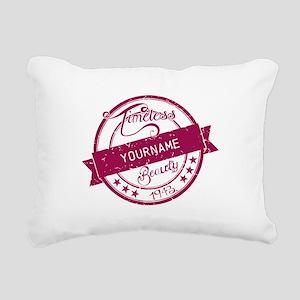 1943 Timeless Beauty Rectangular Canvas Pillow
