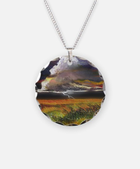 Approaching Storm Clouds Necklace