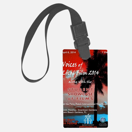 2014 Voices of Local Film & Stud Luggage Tag