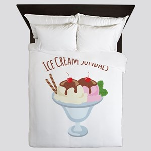 Ice Cream Sundaes Queen Duvet