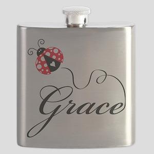Ladybug Grace Flask