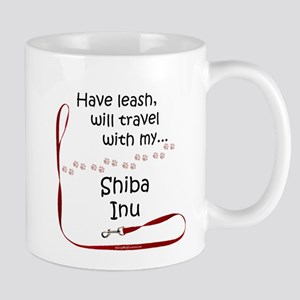 Shiba Travel Leash Mug