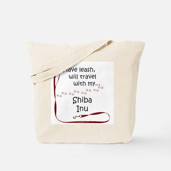 Shiba Travel Leash Tote Bag