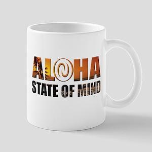 Sunset Aloha State of Mind Mugs