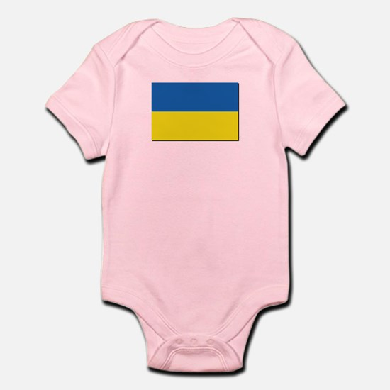Flag of Ukraine Infant Bodysuit