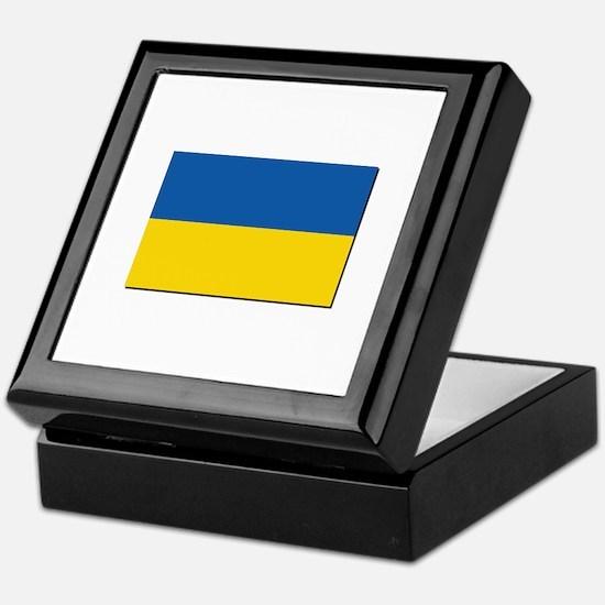 Flag of Ukraine Keepsake Box