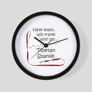 Tibbie Travel Leash Wall Clock
