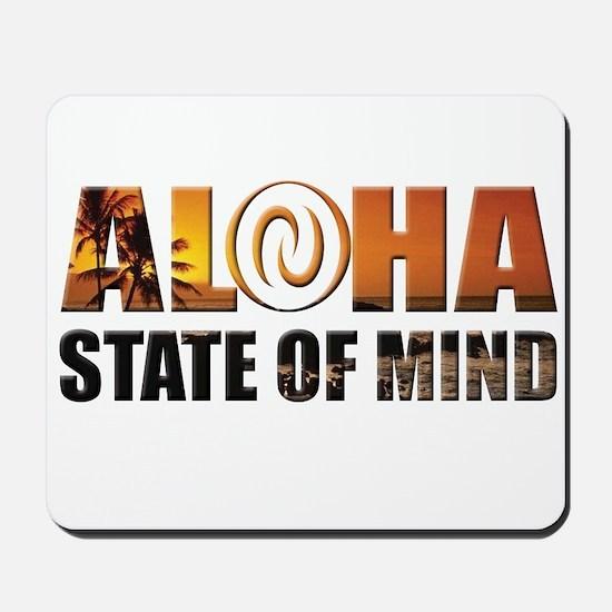 Sunset Aloha State of Mind Mousepad