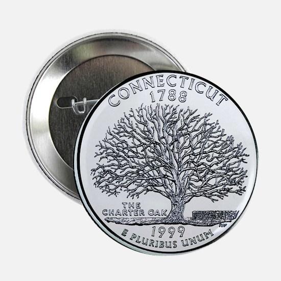 Connecticut State Quarter Button