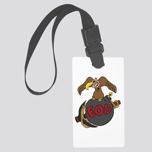 Buzzard Bomb Pick EOD Large Luggage Tag