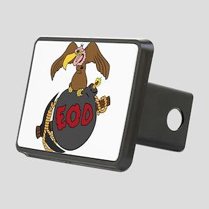 Buzzard Bomb Pick EOD Rectangular Hitch Cover