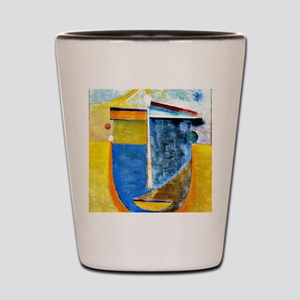 Alexei Jawlensky - Abstract Head: Compo Shot Glass