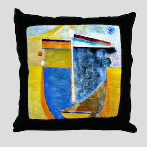 Alexei Jawlensky - Abstract Head: Com Throw Pillow