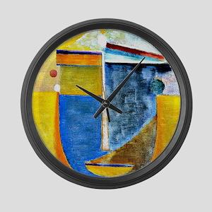 Alexei Jawlensky - Abstract Head: Large Wall Clock
