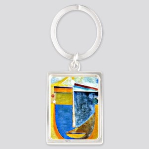 Alexei Jawlensky - Abstract Head Portrait Keychain