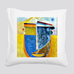 Alexei Jawlensky - Abstract H Square Canvas Pillow