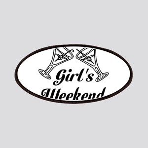 Girls Weekend Martini Glass Patches