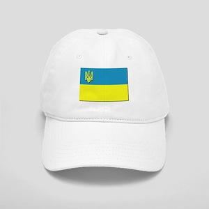 Flag of Ukrainian Trident Cap