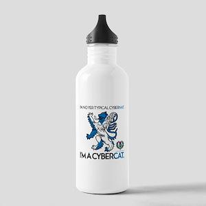 CyberCat Stainless Water Bottle 1.0L
