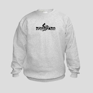 ATV Ride Hard Kids Sweatshirt