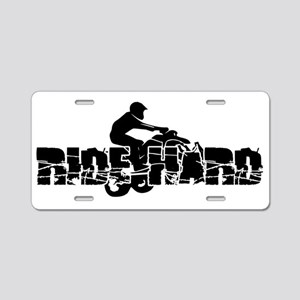 ATV Ride Hard Aluminum License Plate
