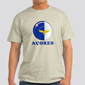 Azores islands flag Light T-Shirt