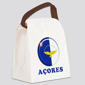 Azores islands flag Canvas Lunch Bag