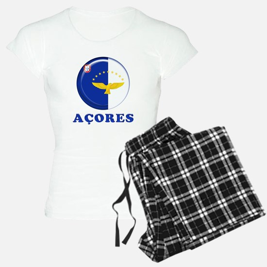 Azores islands flag Pajamas